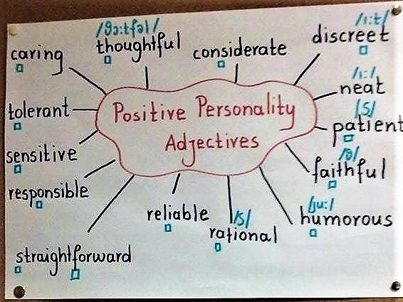 2.positive personality adjectives